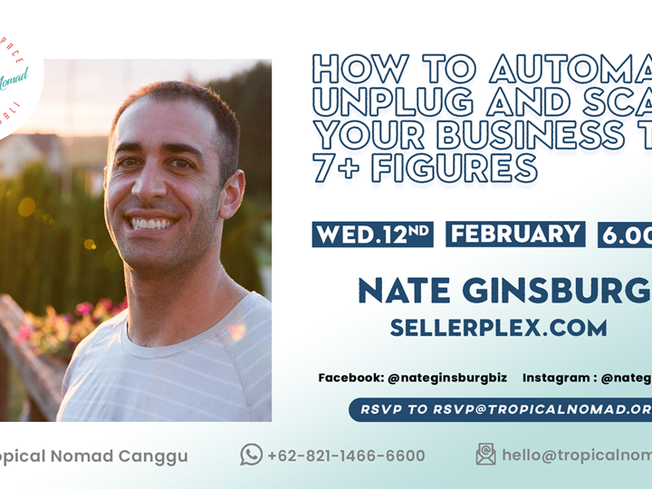 How to Automate Business Event Poster by Nate Ginsburg