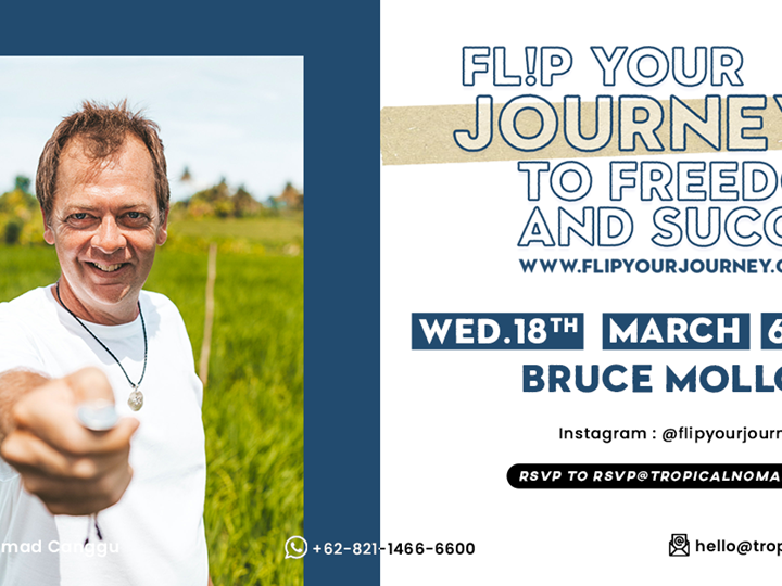 Fl!p Your Journey to Freedom & Success by Bruce Molloy