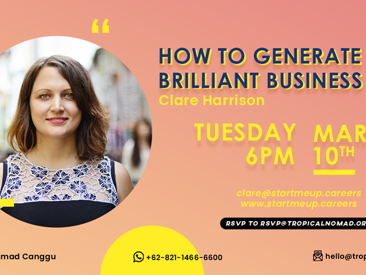 How to Generate Brilliant Business Ideas by Clare Harrison